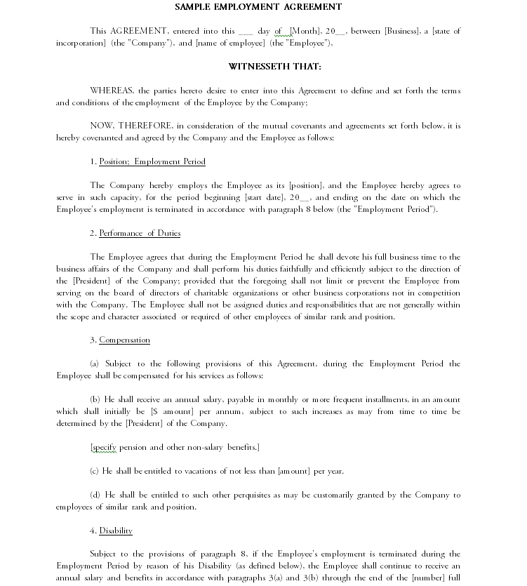Contract Template 12