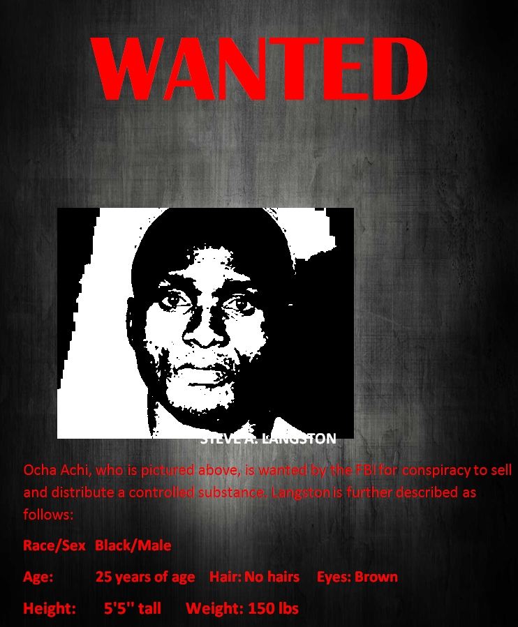 FBI wanted poster template 01