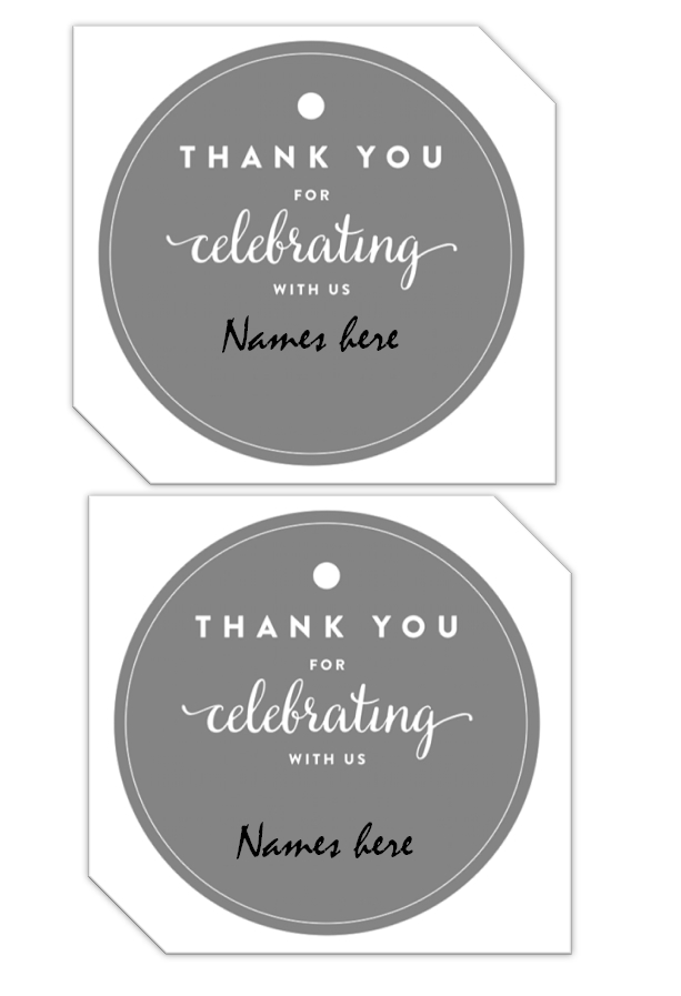 Gift Tag Template 08