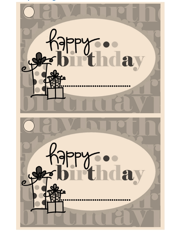 Gift Tag Template 09
