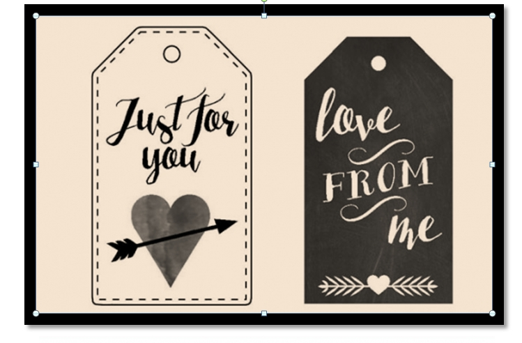 Gift Tag Template 13