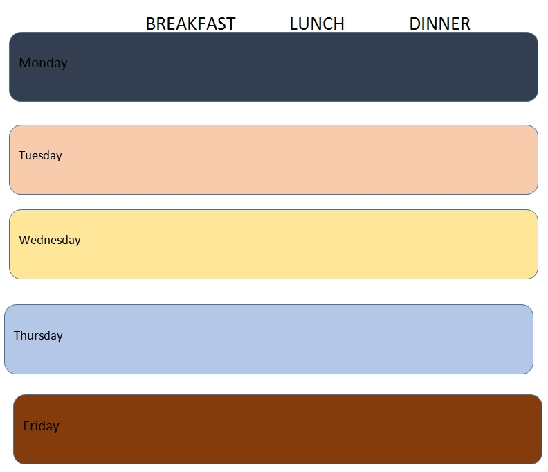 Meal Plan Template 23