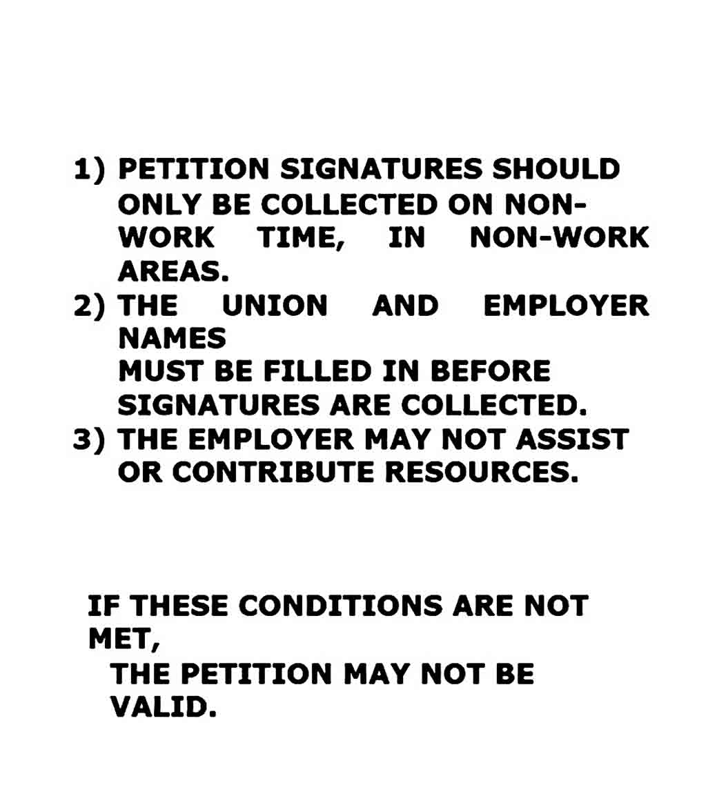 Petition templates to Print For