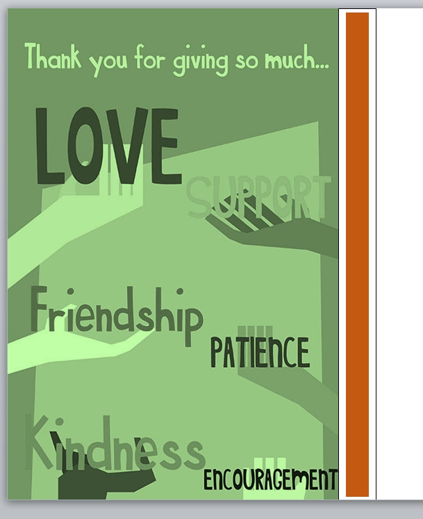 Thank You Card Template 03