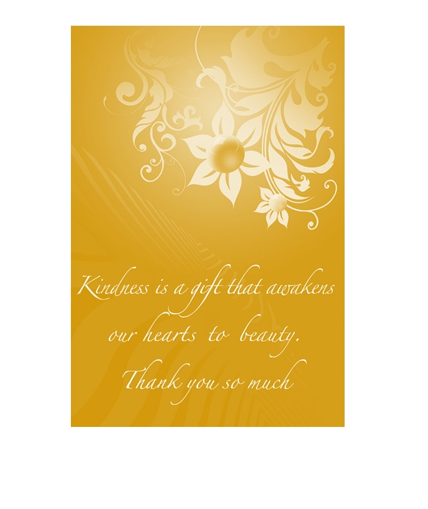 Thank You Card Template 04