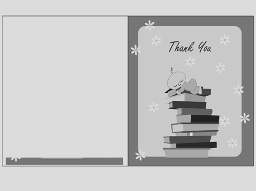 Thank You Card Template 07