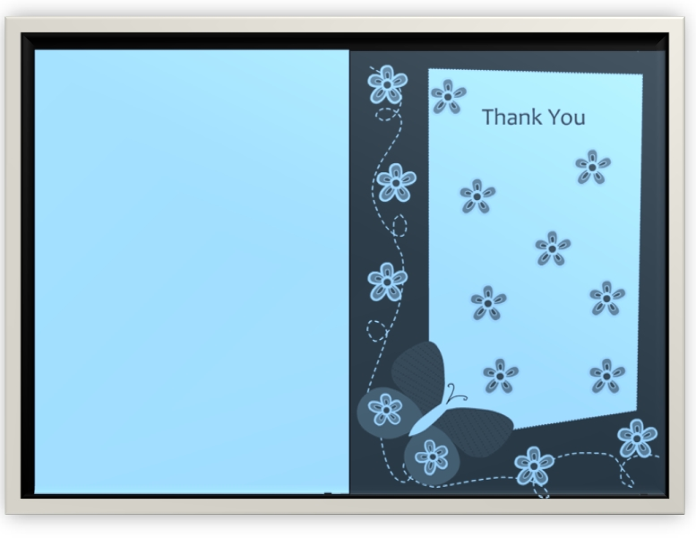 Thank You Card Template 10