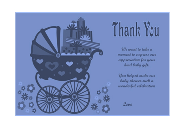 Thank You Card Template 14