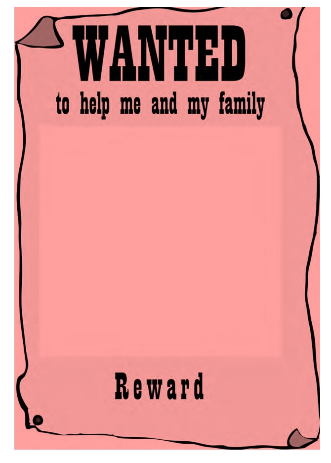 Wanted Poster Template 05