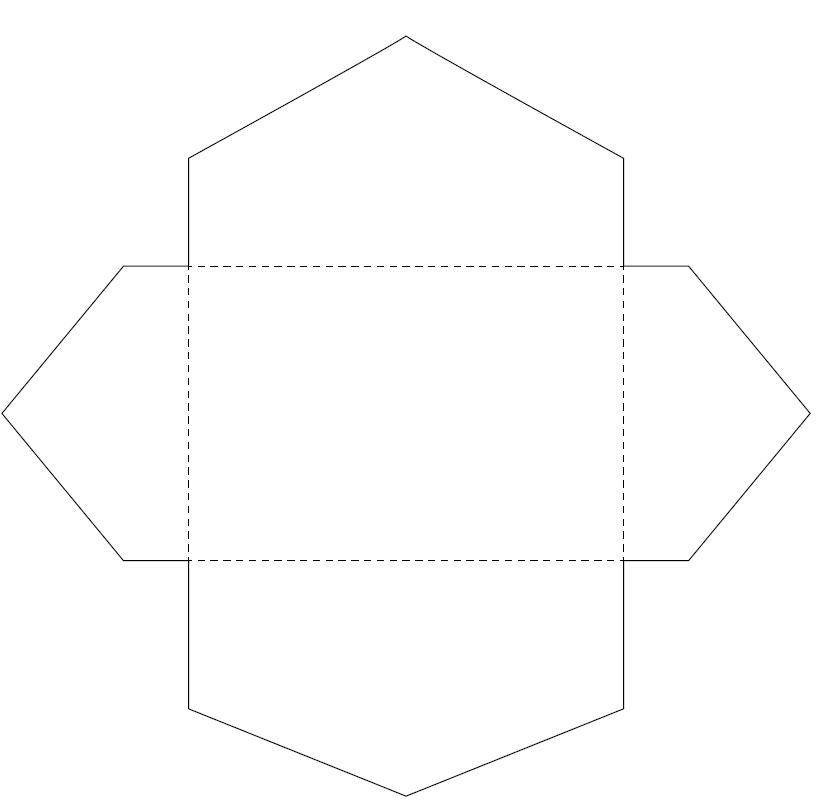 envelope template 40