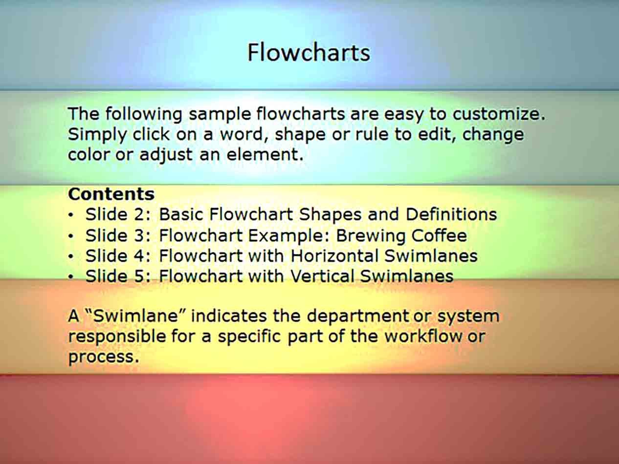 flow chart templates power point