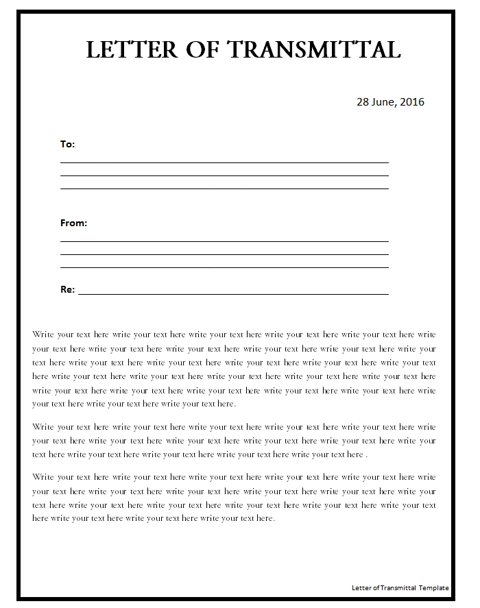 letter of transmittal template 04