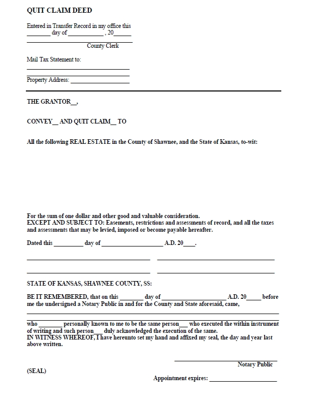 quit claim deed template 26