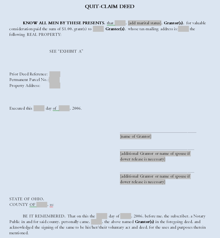 quit claim deed template 30