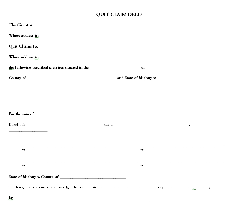 quit claim deed template 33