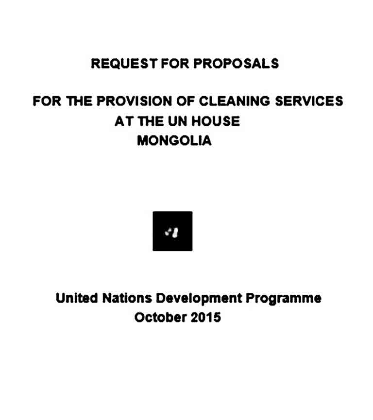 scanned rfp 15 011 cleaning services at un house