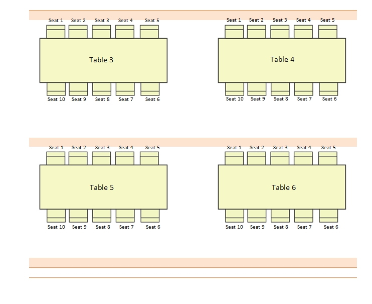 seating chart template 25