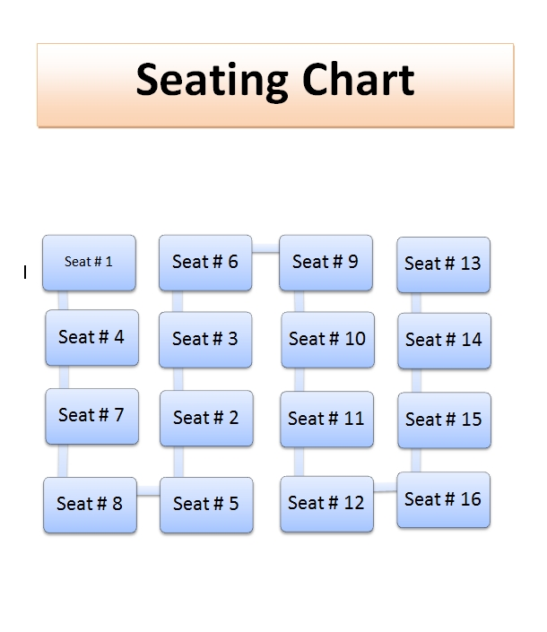 seating chart template 30