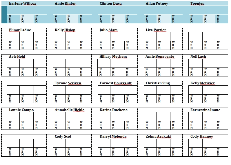 seating chart template 37