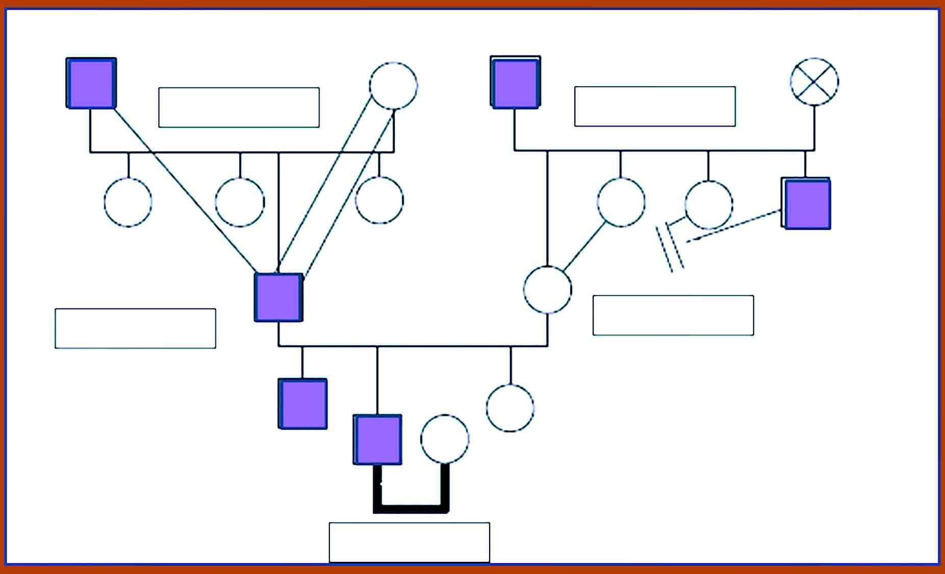 Genogram Template 16