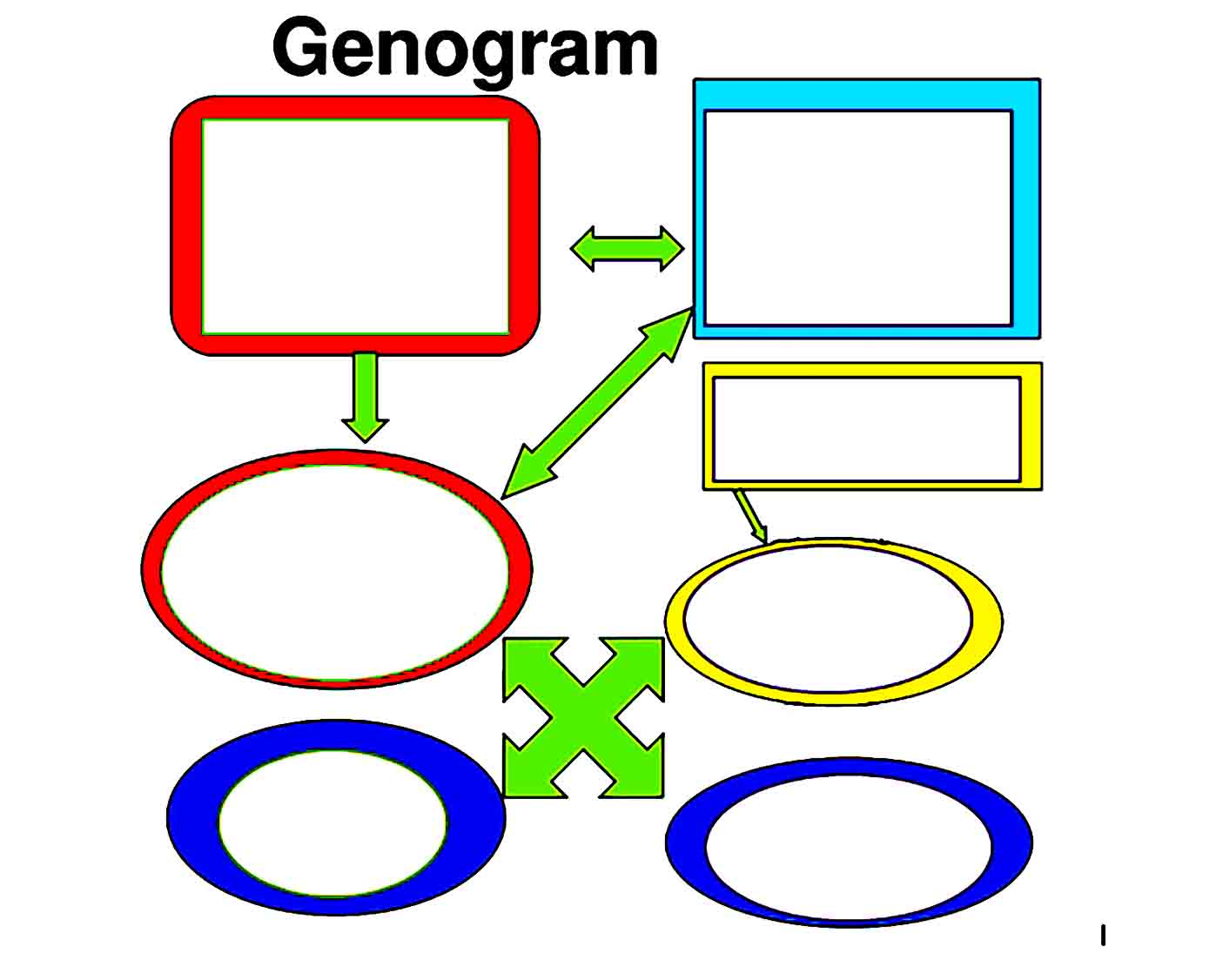 Genogram Template 17