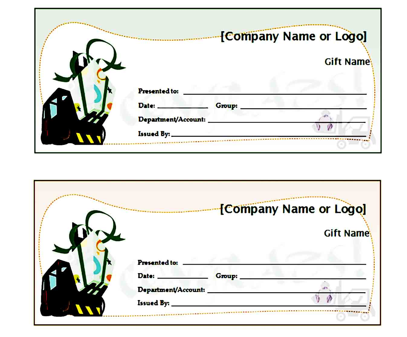 Gift Certificate Template 25