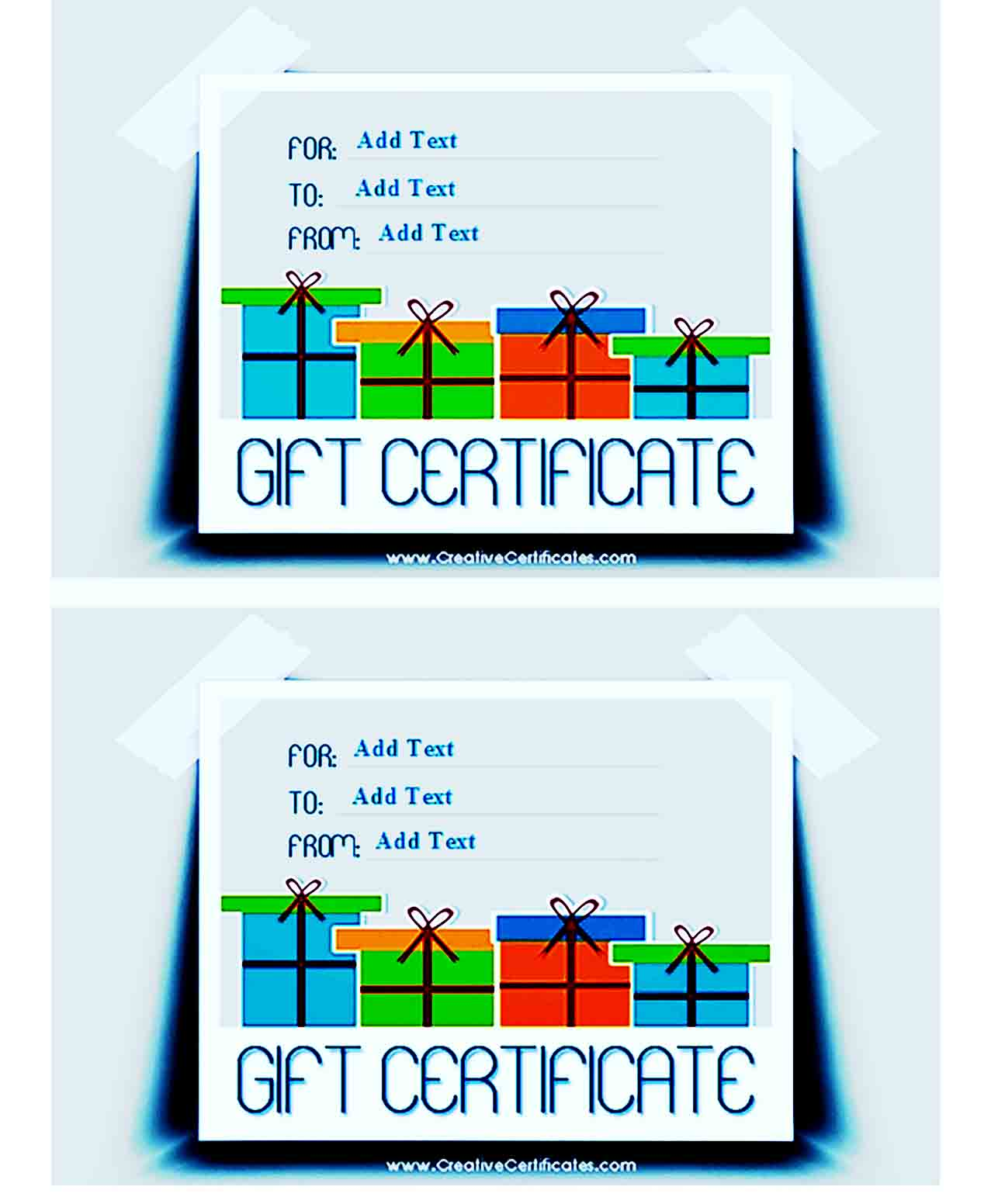 Gift Certificate Template 26
