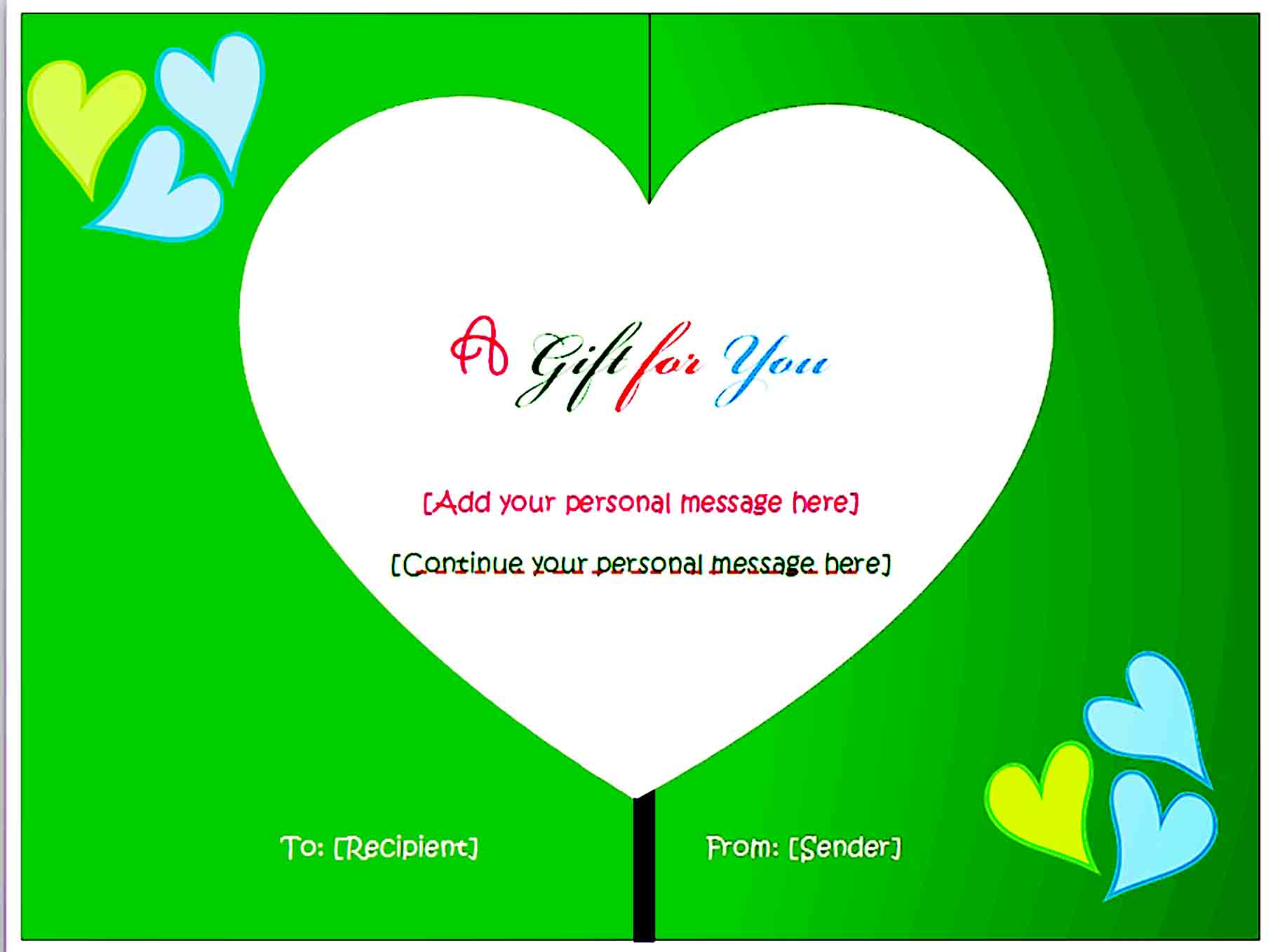 Gift Certificate Template 32