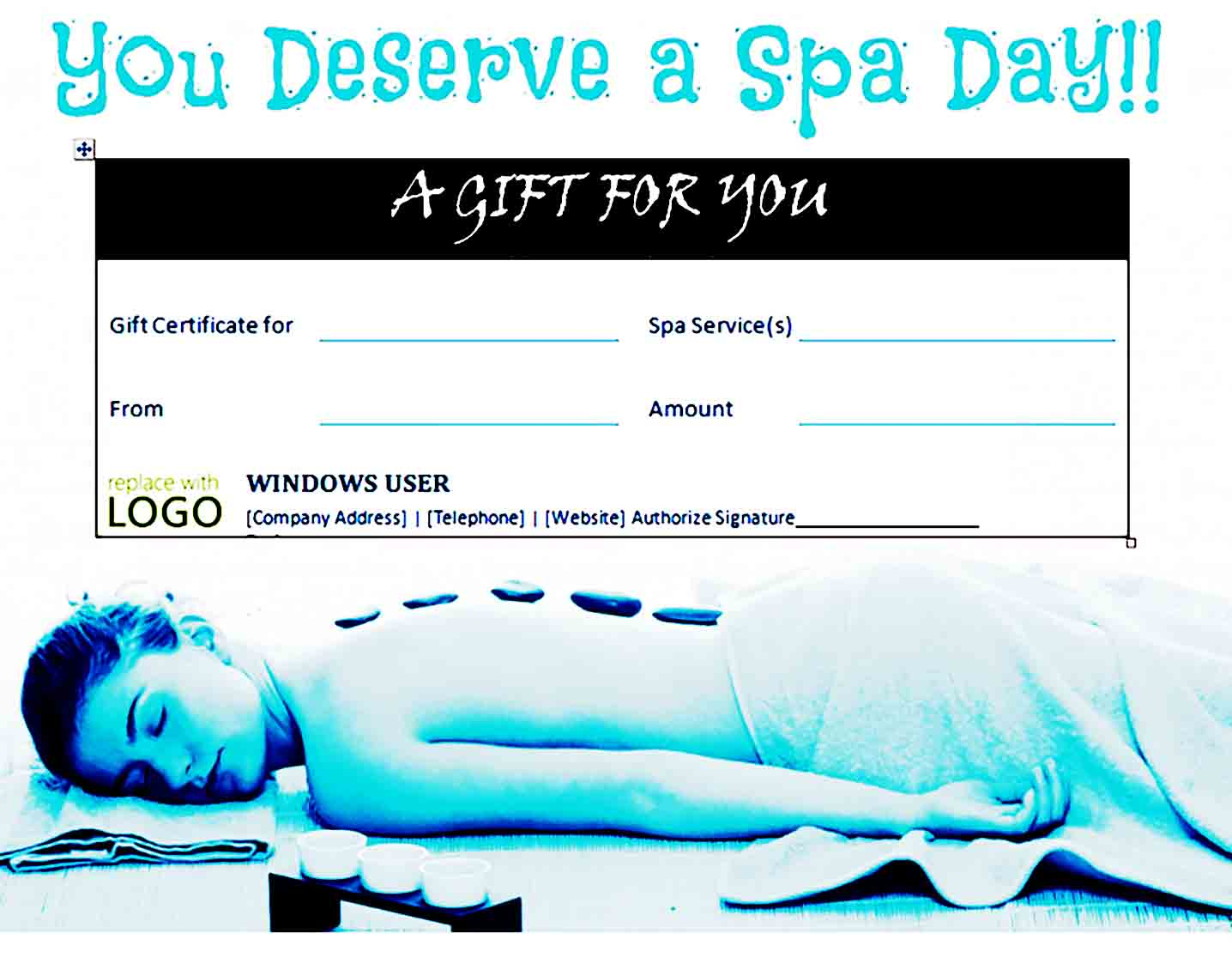 Gift Certificate Template 36
