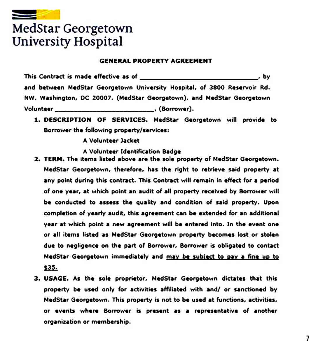 Property Contract Agreement