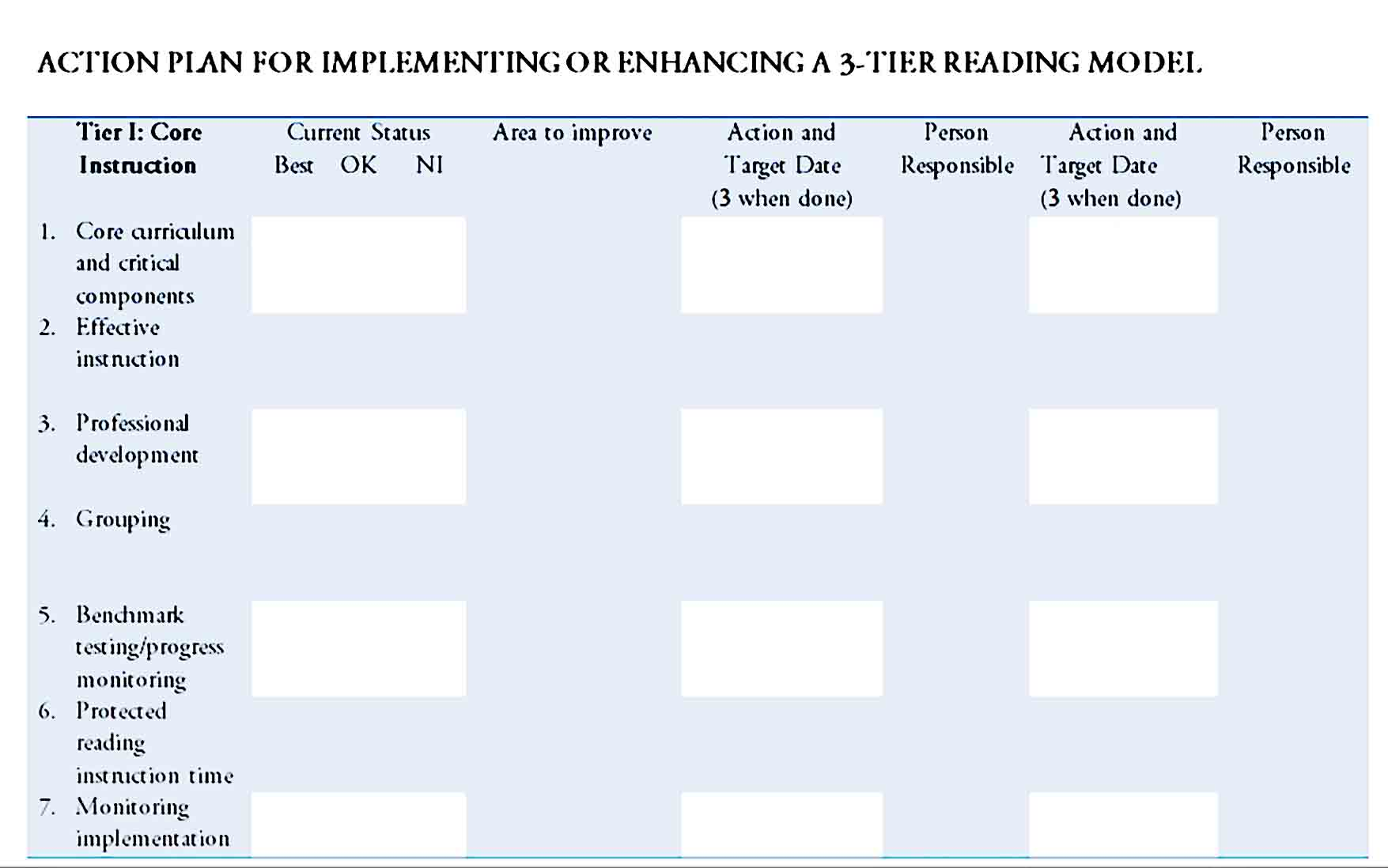 action plan template 32