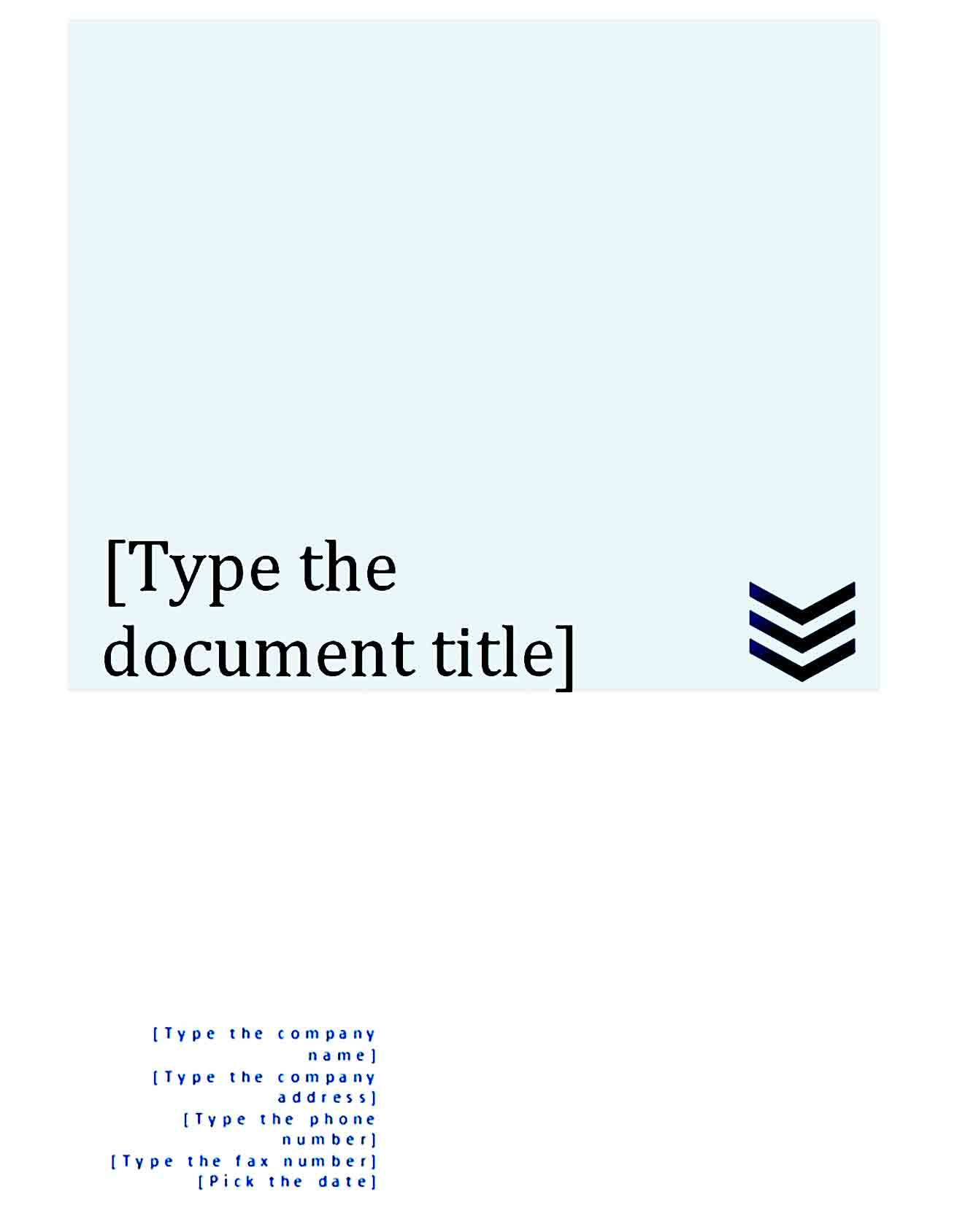 cover page template 07