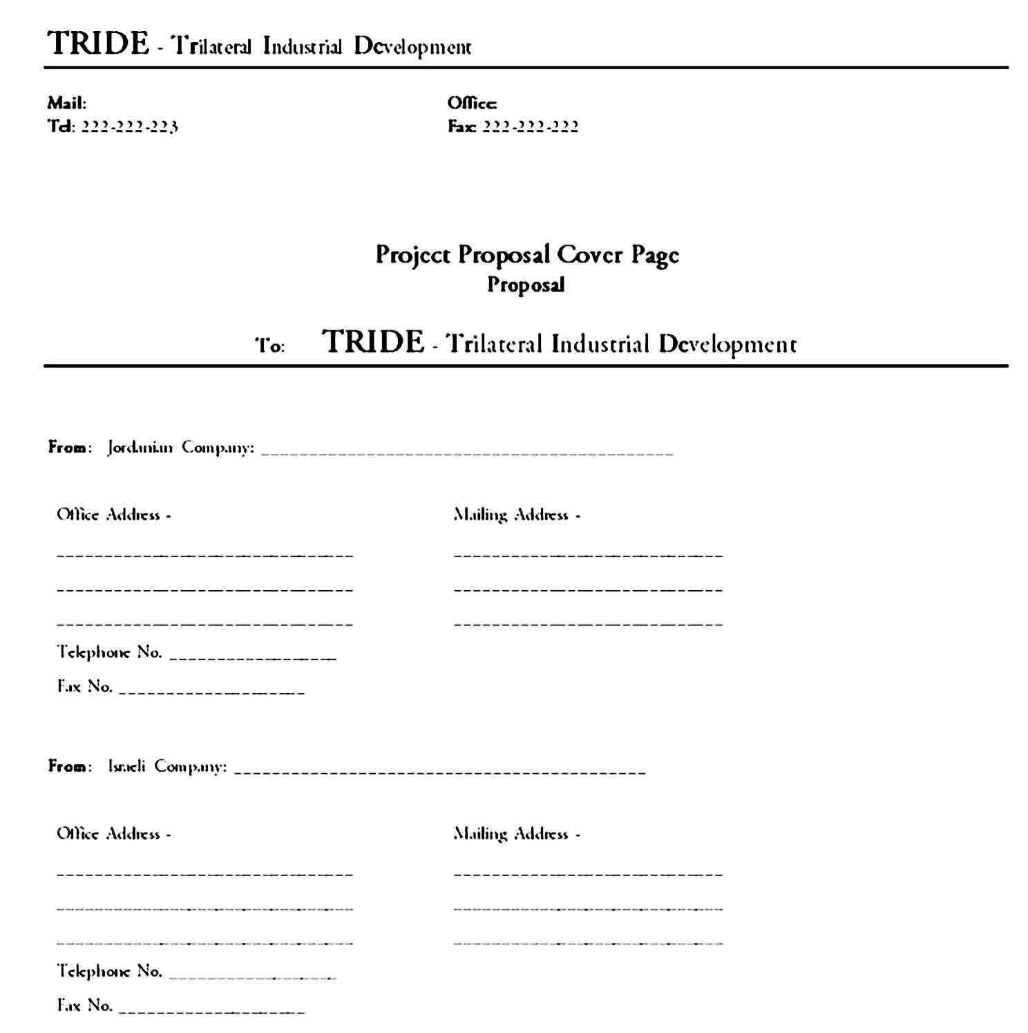 cover page template 31