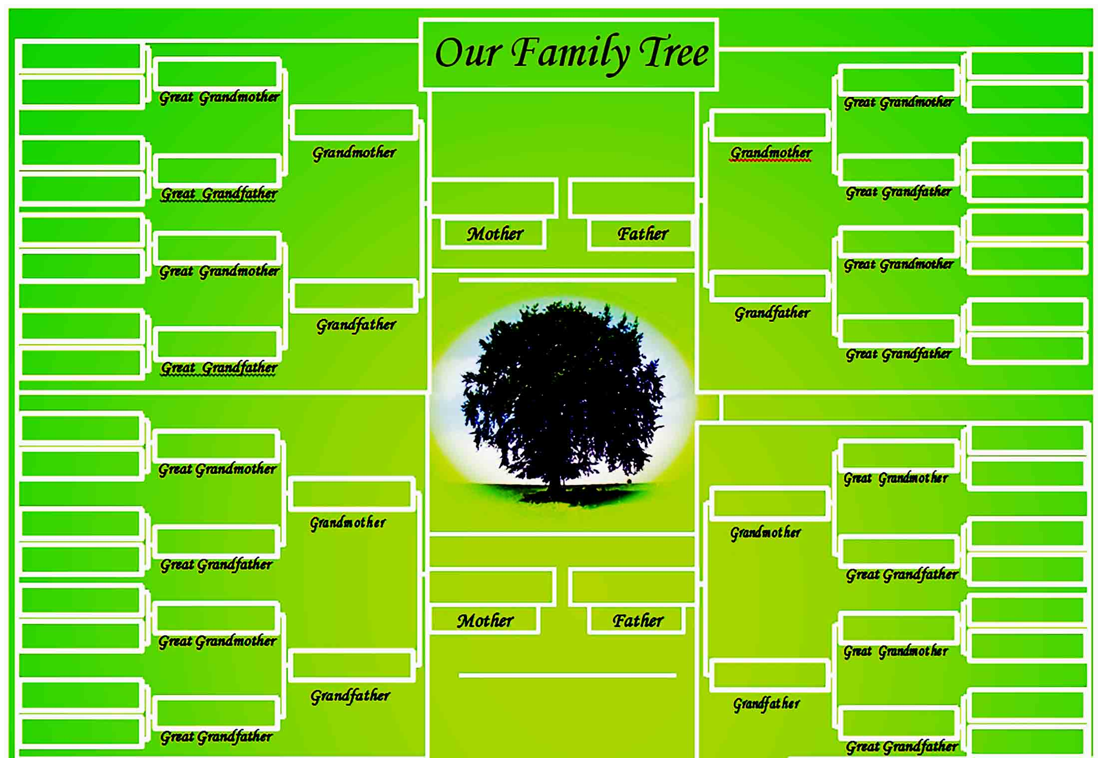 family tree template 18