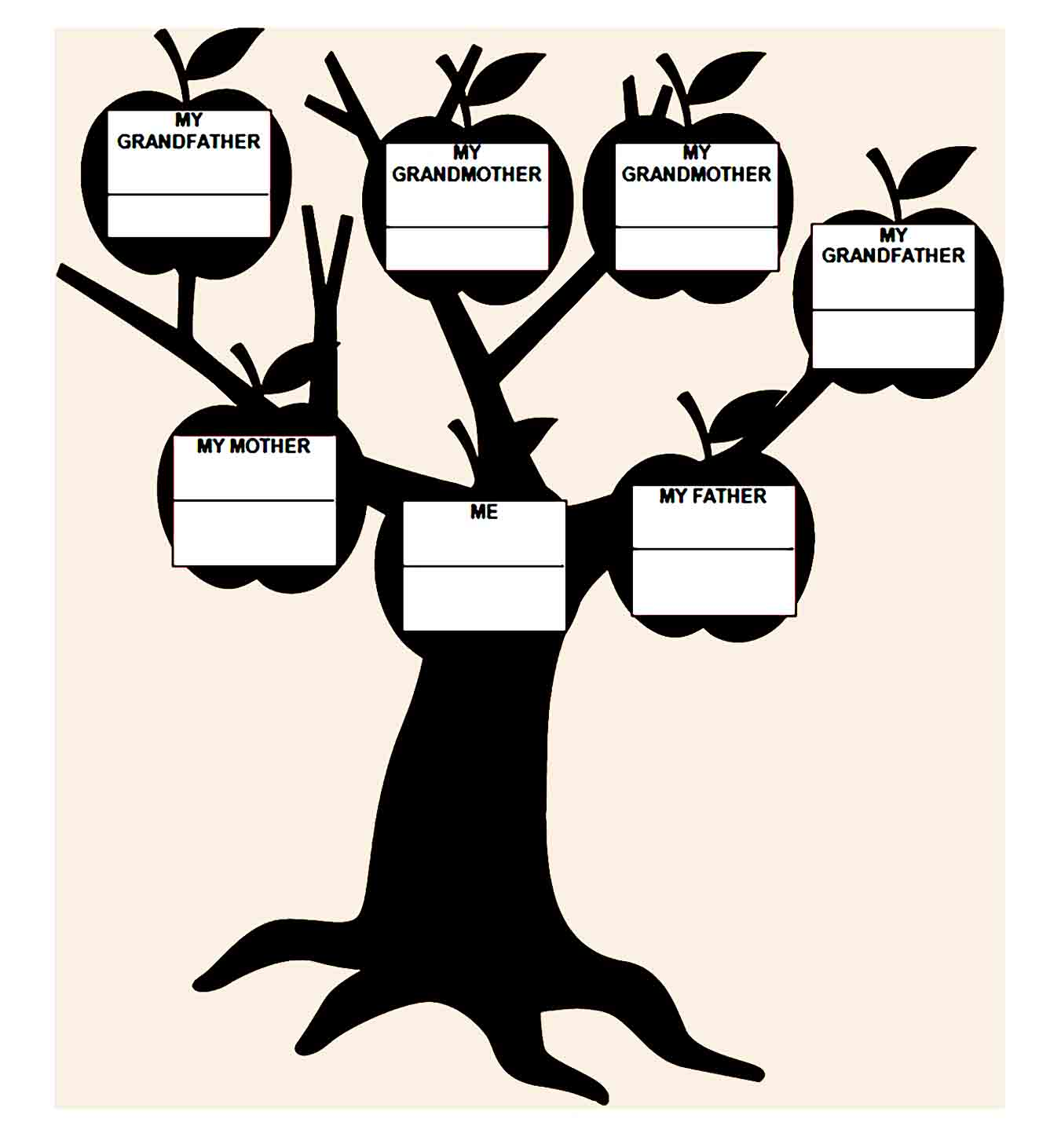 family tree template 21