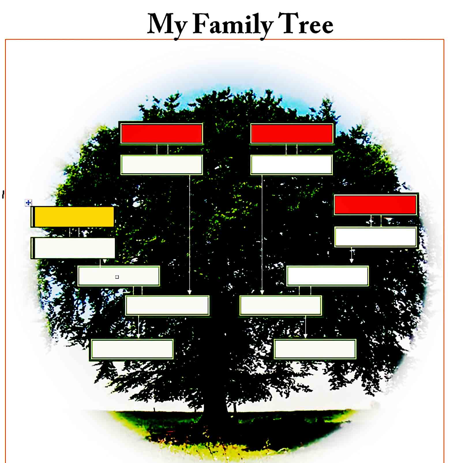 family tree template 28