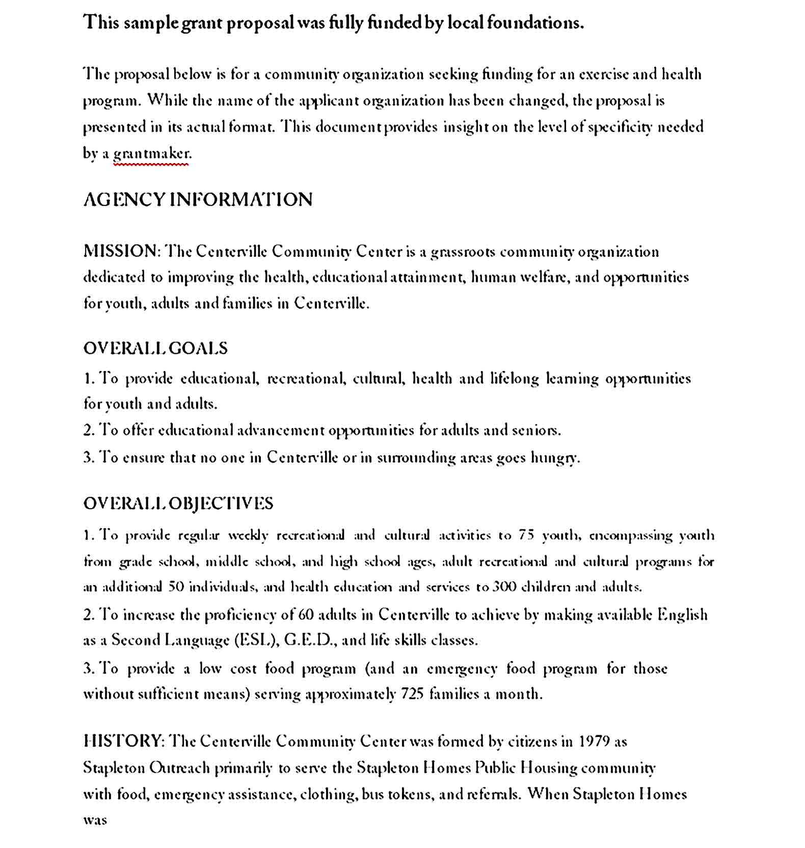 grant proposal template 14