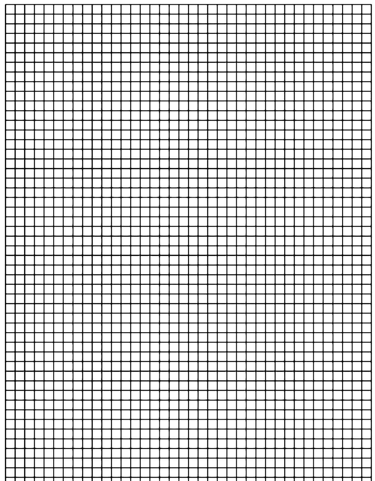graph paper template 11