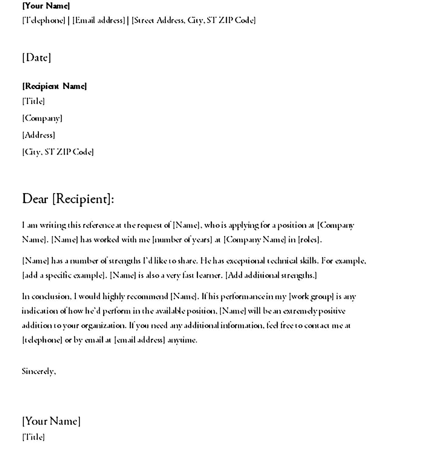 letter of recommendation 04