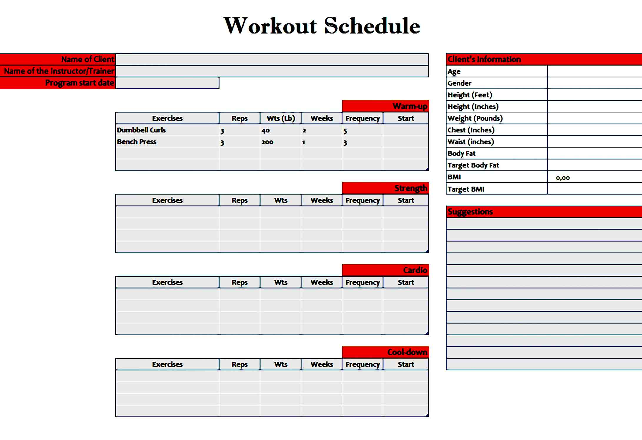 workout template 34