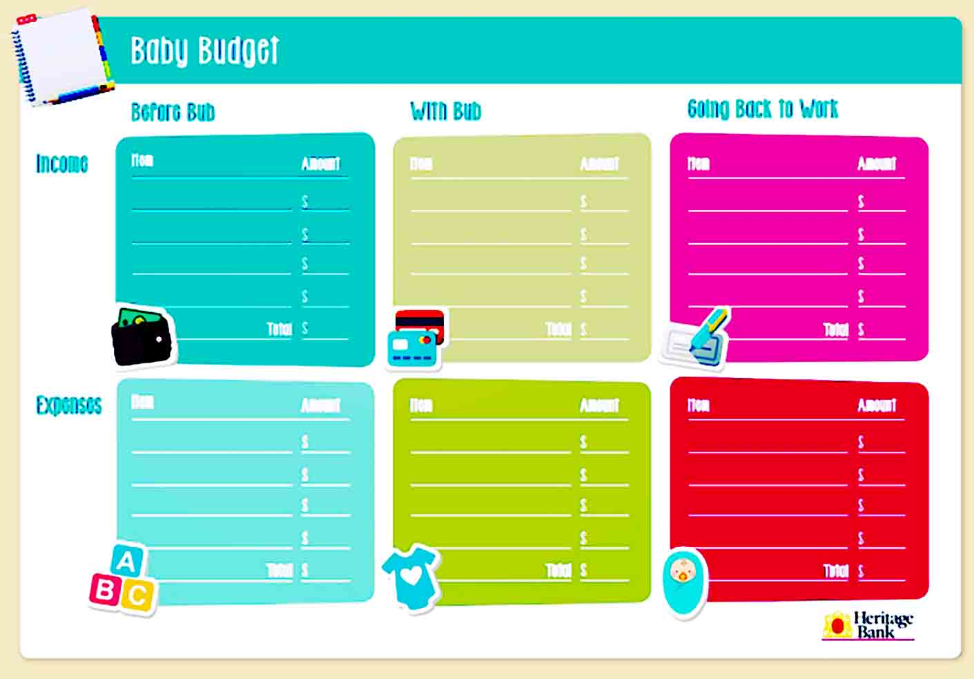 Basic Baby Budget Template