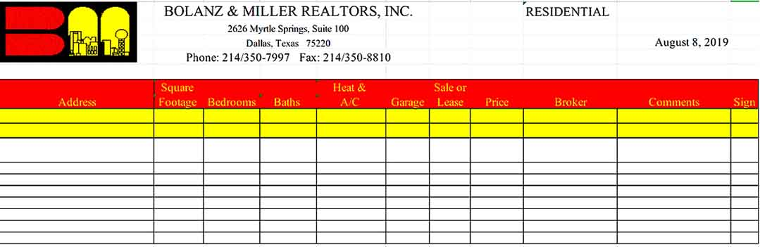 Excel Retail Sale Inventory Templates Sample