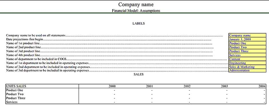Financial Product Inventory Download Templates Sample 1