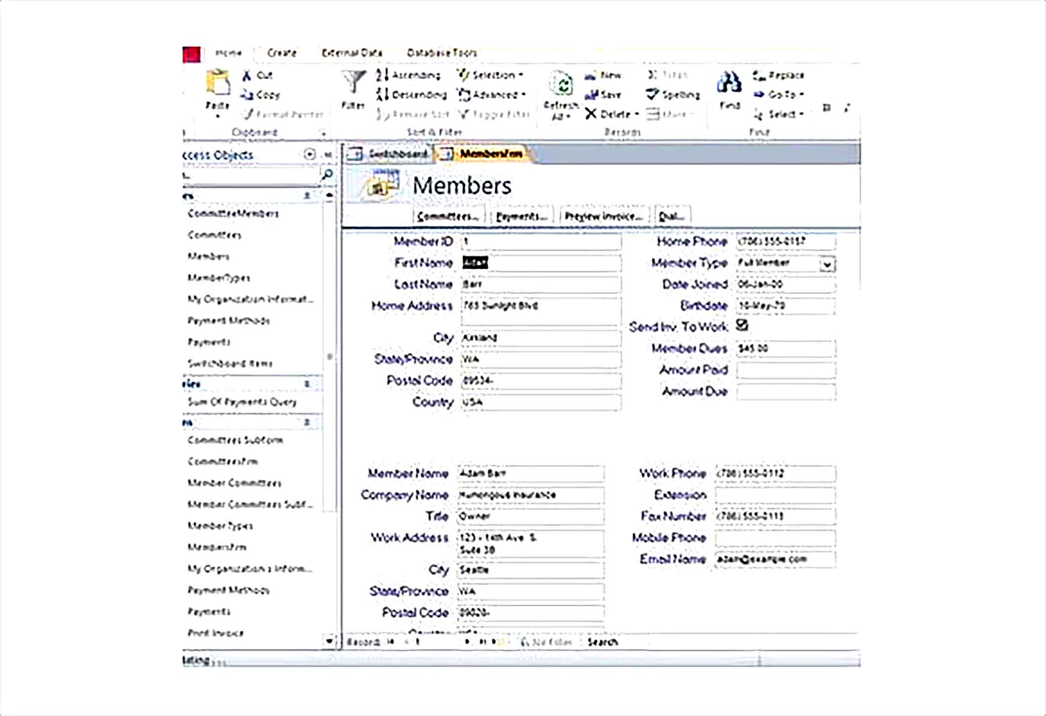 Inventory Access Control Template