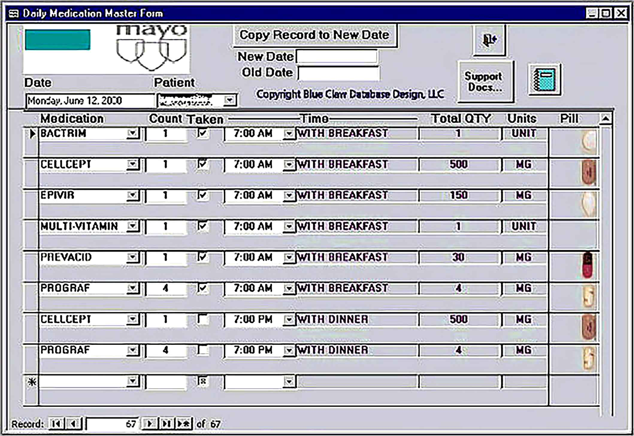 Medical Access Inventory Tracking Template for Download1