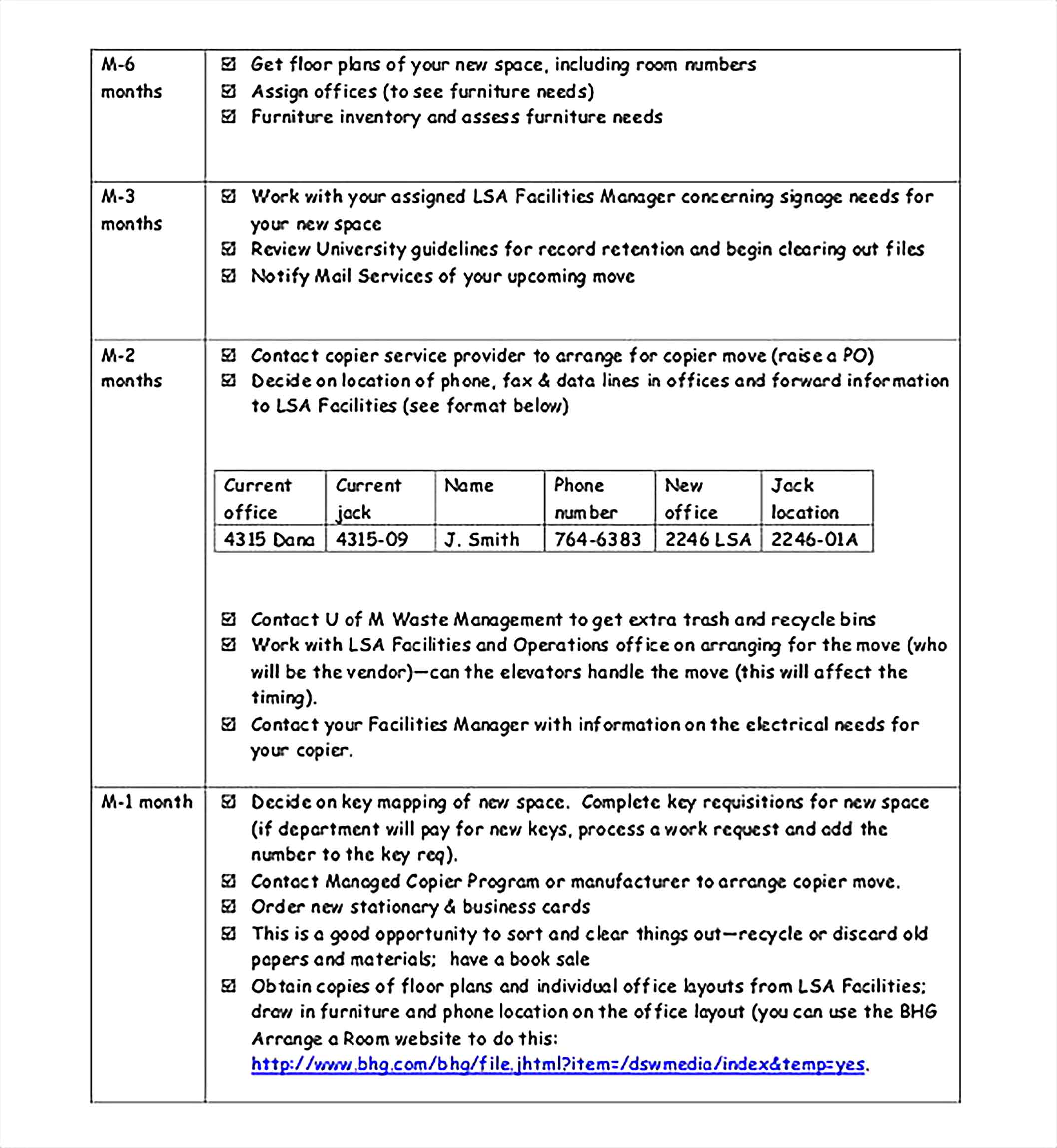 Move Planning Inventory Template PDF
