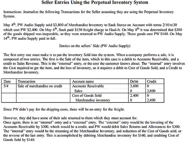Perpetual Inventory System Template 1