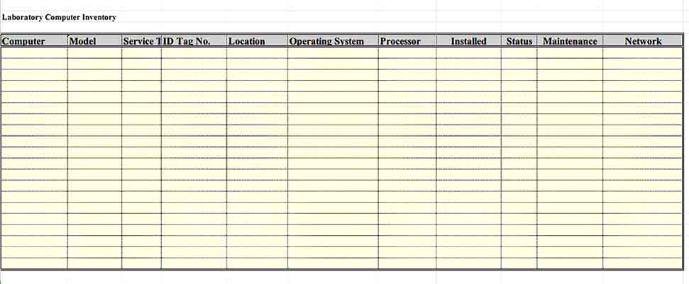 Retail Software Inventory Template Excel Download 2