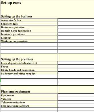 Simple Financial Plan Inventory 1 Templates Sample