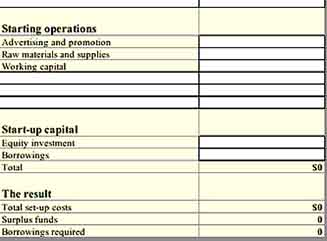 Simple Financial Plan Inventory 2 Templates Sample